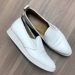 Everlane Platform White Street Shoes